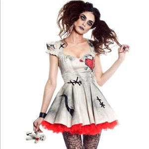 Dresses & Skirts - Voodoo doll costume. Never worn. Size small.